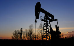 Petróleo e gás Imagens de Stock