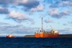 Petróleo e gás Fotografia de Stock