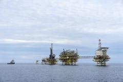 Petróleo e gás foto de stock