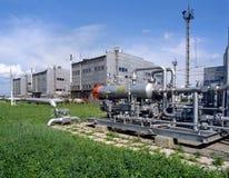 Petróleo e indústria do gás natural Fotografia de Stock