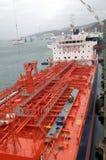 Petróleo e indústria do gás - petroleiro de petróleo do grude Imagens de Stock Royalty Free