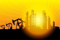 Petróleo e industrial Imagens de Stock