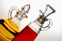 Petróleo e vinagre Fotos de Stock Royalty Free