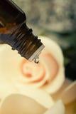Petróleo essencial para aromatherapy Imagem de Stock