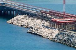 Petróleo marina foto de archivo libre de regalías