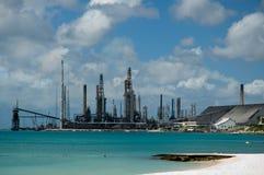 Petróleo refinary Imagens de Stock