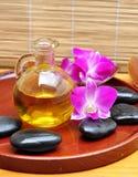 Petróleo tropical del balneario y del masaje Fotografía de archivo