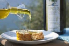 Petróleo verde-oliva imagem de stock