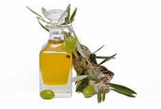 Petróleo verde-oliva. Imagem de Stock
