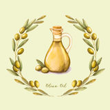 Petróleo verde-oliva Ilustração Royalty Free