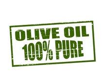 Petróleo verde-oliva puro Fotografia de Stock Royalty Free