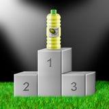 Petróleo verde-oliva superior Fotografia de Stock
