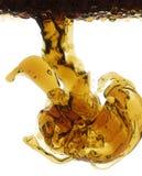 Petróleo y agua Foto de archivo libre de regalías