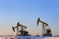 Petróleo y gas Imagen de archivo libre de regalías