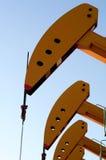 Petróleo y gas fotografía de archivo