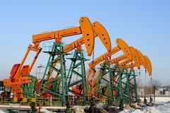 Petróleo y gas Fotografía de archivo libre de regalías