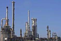 Petróleo y gas en Rotterdam Fotos de archivo libres de regalías