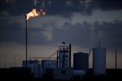 Petróleo y industria petrolera fotos de archivo