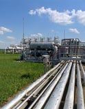 Petróleo y industria petrolera natural Fotos de archivo libres de regalías
