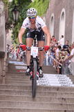 Petr Dlask - Prague bike race 2011 Royalty Free Stock Photo