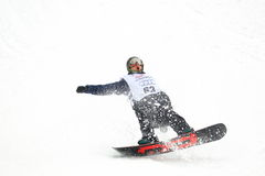 Petr Horak - slopestyle Stock Images