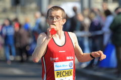 Petr Pechek - Prague marathon 2015 Royalty Free Stock Photography