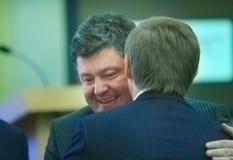 Petr Poroshenko portrait Stock Images