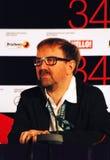 Petr Shepotinnik at press-conference Stock Photos
