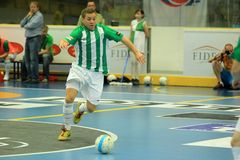 Petr Zapletal - Bohemians Prague futsal Royalty Free Stock Photography