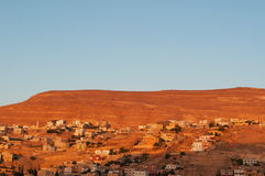 Petra考古学公园,约旦,中东 库存图片