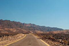 Petra考古学公园,约旦,中东 图库摄影