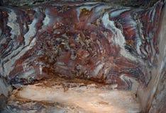Petra花岗岩石头  库存照片