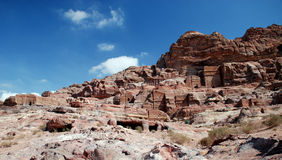 Petra,乔丹 免版税库存照片