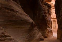 Petra,约旦 库存照片