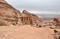 Petra,约旦 免版税库存照片