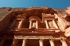 Petra,考古学公园,约旦,中东 库存图片