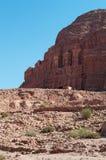 Petra,考古学公园,约旦,中东 图库摄影