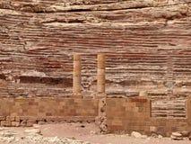 Petra αμφιθέατρο Ρωμαίος Στοκ φωτογραφία με δικαίωμα ελεύθερης χρήσης