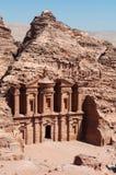 Petra, αρχαιολογικό πάρκο, Ιορδανία, Μέση Ανατολή Στοκ Εικόνες