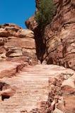 Petra, αρχαιολογικό πάρκο, Ιορδανία, Μέση Ανατολή Στοκ φωτογραφίες με δικαίωμα ελεύθερης χρήσης