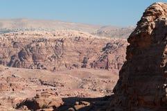 Petra, αρχαιολογικό πάρκο, Ιορδανία, Μέση Ανατολή Στοκ Εικόνα