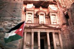 PETRA της Ιορδανίας Στοκ Εικόνα