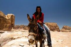 PETRA της Ιορδανίας Στοκ φωτογραφία με δικαίωμα ελεύθερης χρήσης