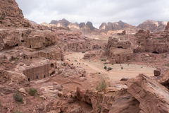PETRA της Ιορδανίας Στοκ Εικόνες
