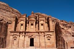 Petra, археологический парк, Джордан, Ближний Восток Стоковое Изображение