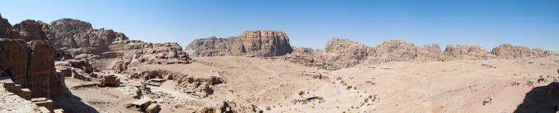 Petra, археологический парк, Джордан, Ближний Восток Стоковое фото RF