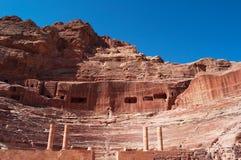 Petra, археологический парк, Джордан, Ближний Восток Стоковая Фотография RF