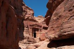 Petra, археологический парк, Джордан, Ближний Восток Стоковые Изображения RF