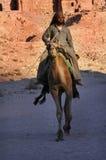 Petra в Иорданском Королевстве Стоковая Фотография RF