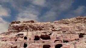 Petra, Джордан, Ближний Восток -- символ Джордана, так же, как ` s Джордана больше всего-посетило туристическую достопримечательн сток-видео